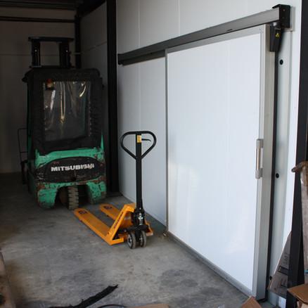 Small Cold Room Sliding Door
