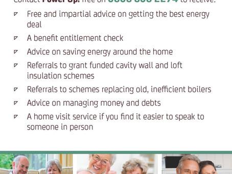Power Up Energy Advice Hub