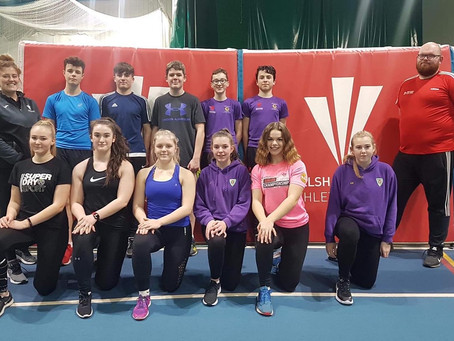 Welsh Athletics Regional Throws Development Day
