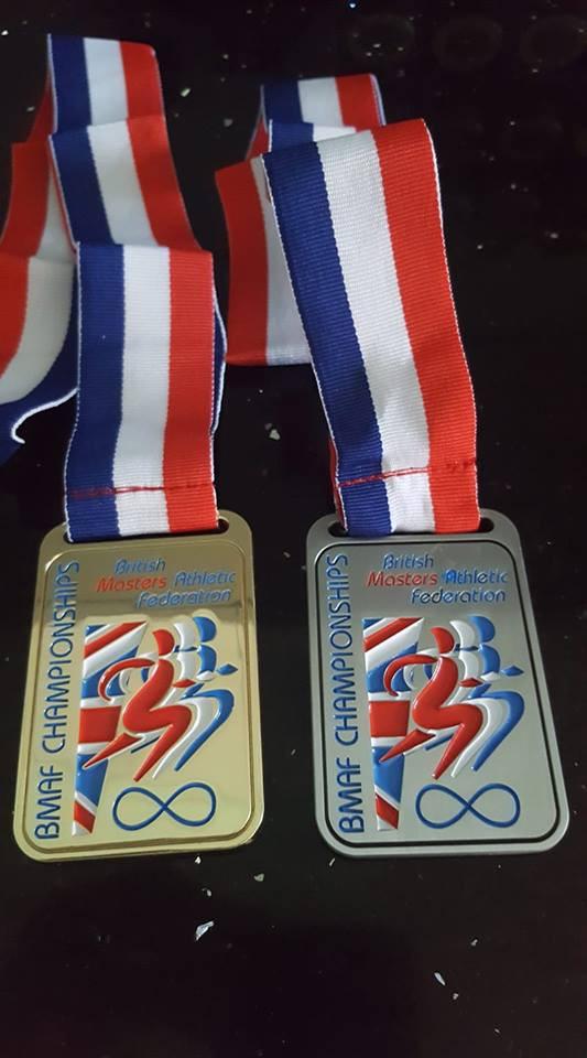 British Masters Championships Medals