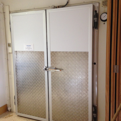 Double Leaf Hinged Doors