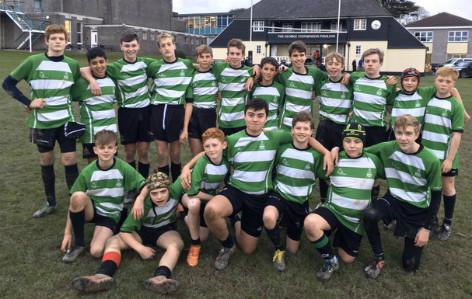 191122 U14 Rugby