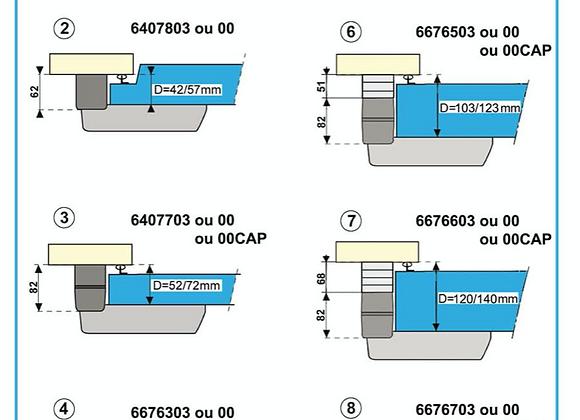 Fermod 920/921 strike 52-72mm