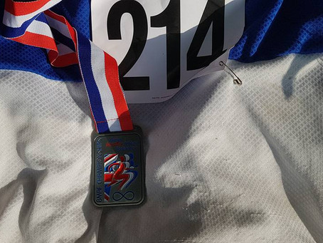 Keith Powell 6th Overall at British Masters Pentathlon Championships and breaks 2 Club Records