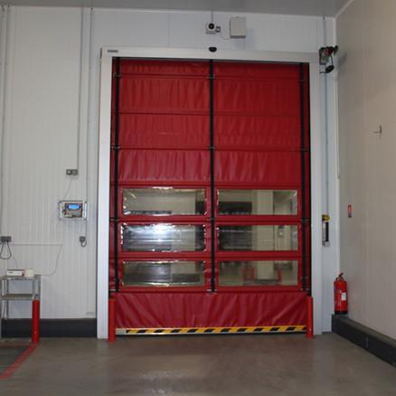 Rapid Fold-up Door