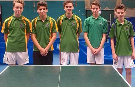 141114 Table Tennis U16