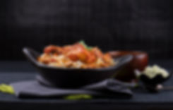 Spicy and tasty chicken biryani from Monsoon Indian restaurant wareham