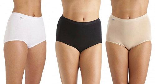 La Marquise Ladies Underwear 3 Pairs Maxi Briefs