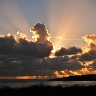 Sunset over Sully.JPG