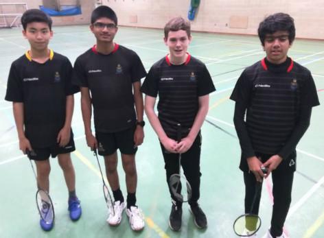 191115 U14 badminton