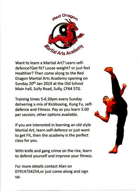 Martial Arts Academy Poster
