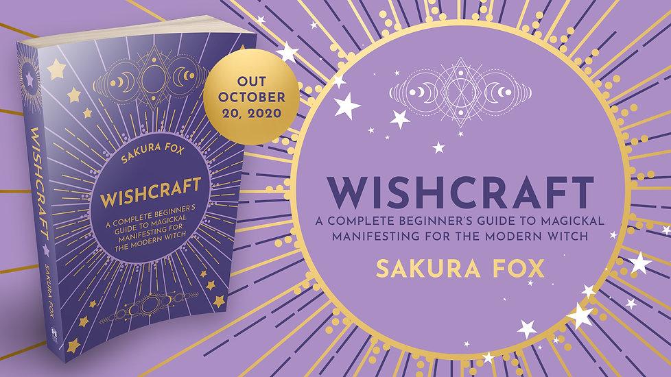 Wishcraft book release by Sakura Fox