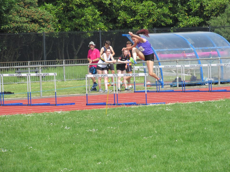 Shireen Balouch: 100m hurdles in YDL at Swindon