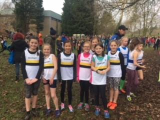 Gwent League Pontypool U11 Girls Team