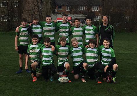 170324 U13 Rugby