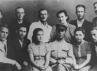 Survivors of the Sobibor extermination camp