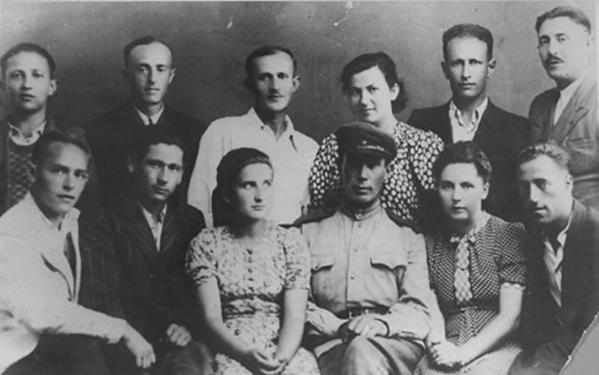Survivors of the Sobibór extermination camp