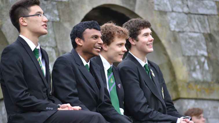 Image of sixth form students from Devonport High School for Boys