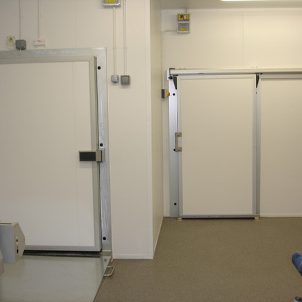 Lightweight Sliding Chiller Cold Room Door