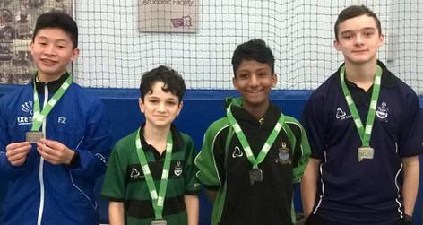160304 Badminton U14