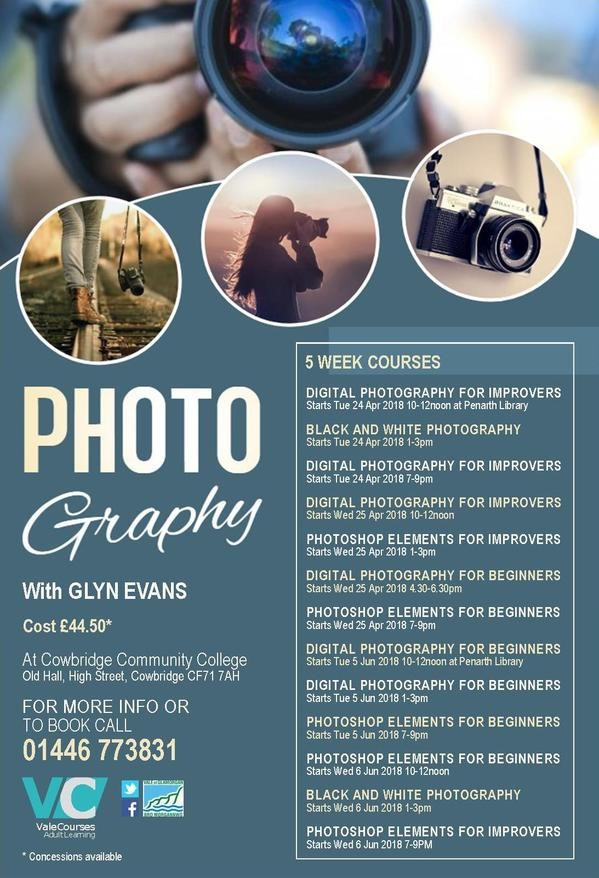 Photography Course Poster Image