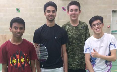 171110 Badminton