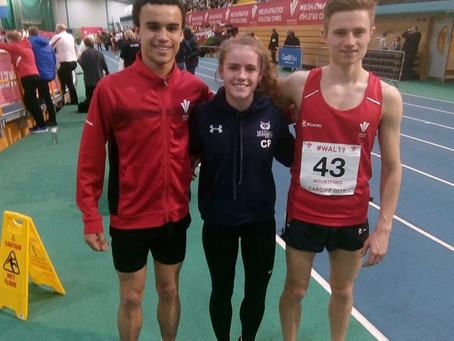 Welsh Athletics Indoor International 2019 (& Welsh Senior Men 3000m Championships)