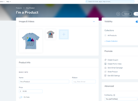 What should I include in my products pages on my Wix eStore to maximise sales?