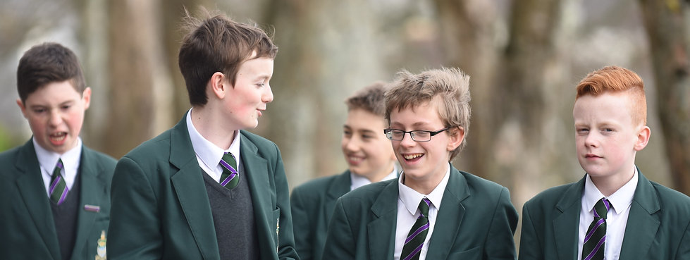 Image of happy students from Devonport High School for Boys