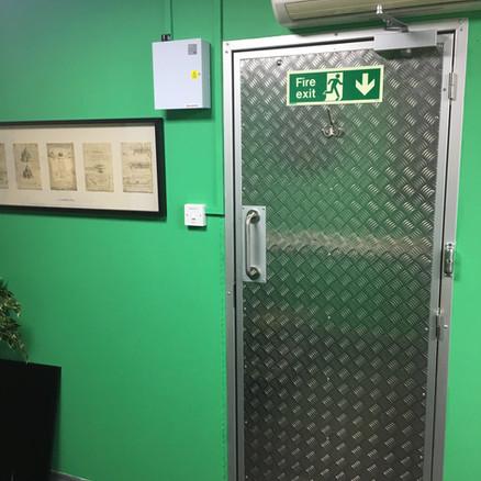 Office Personnel Door