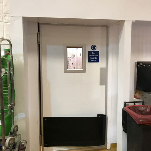 Single Leaf Double Action Amenity Door