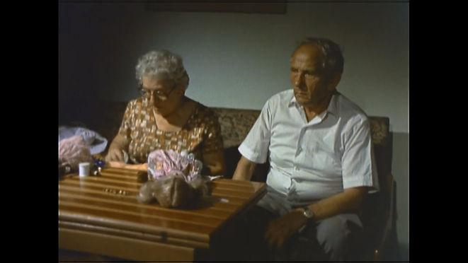 Ada Lichtman and her husband Itzhak