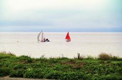 Sailing at Sully