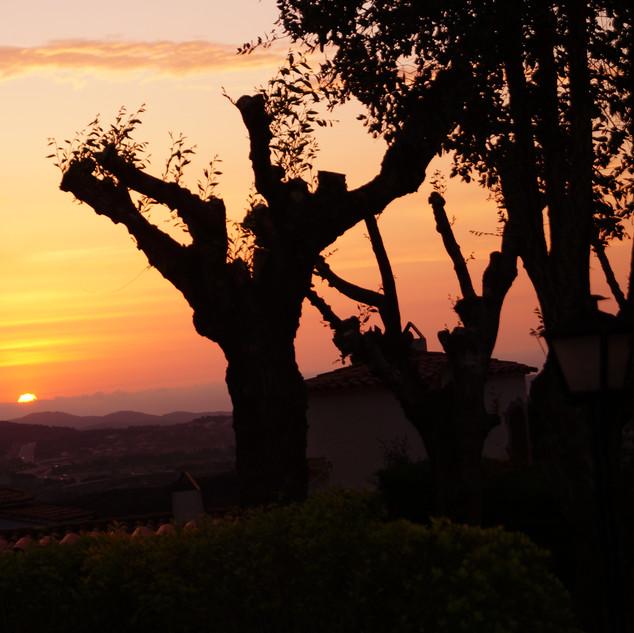 Sunrise over Palamos