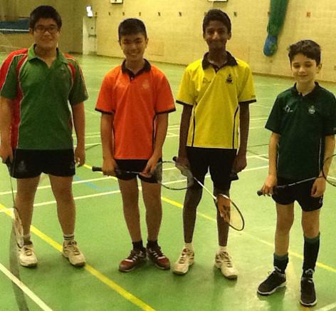 170113 Badminton
