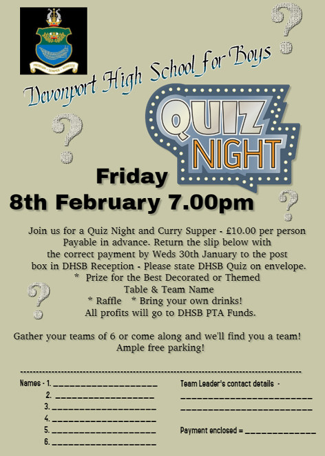 190111 DHSB Quiz Night