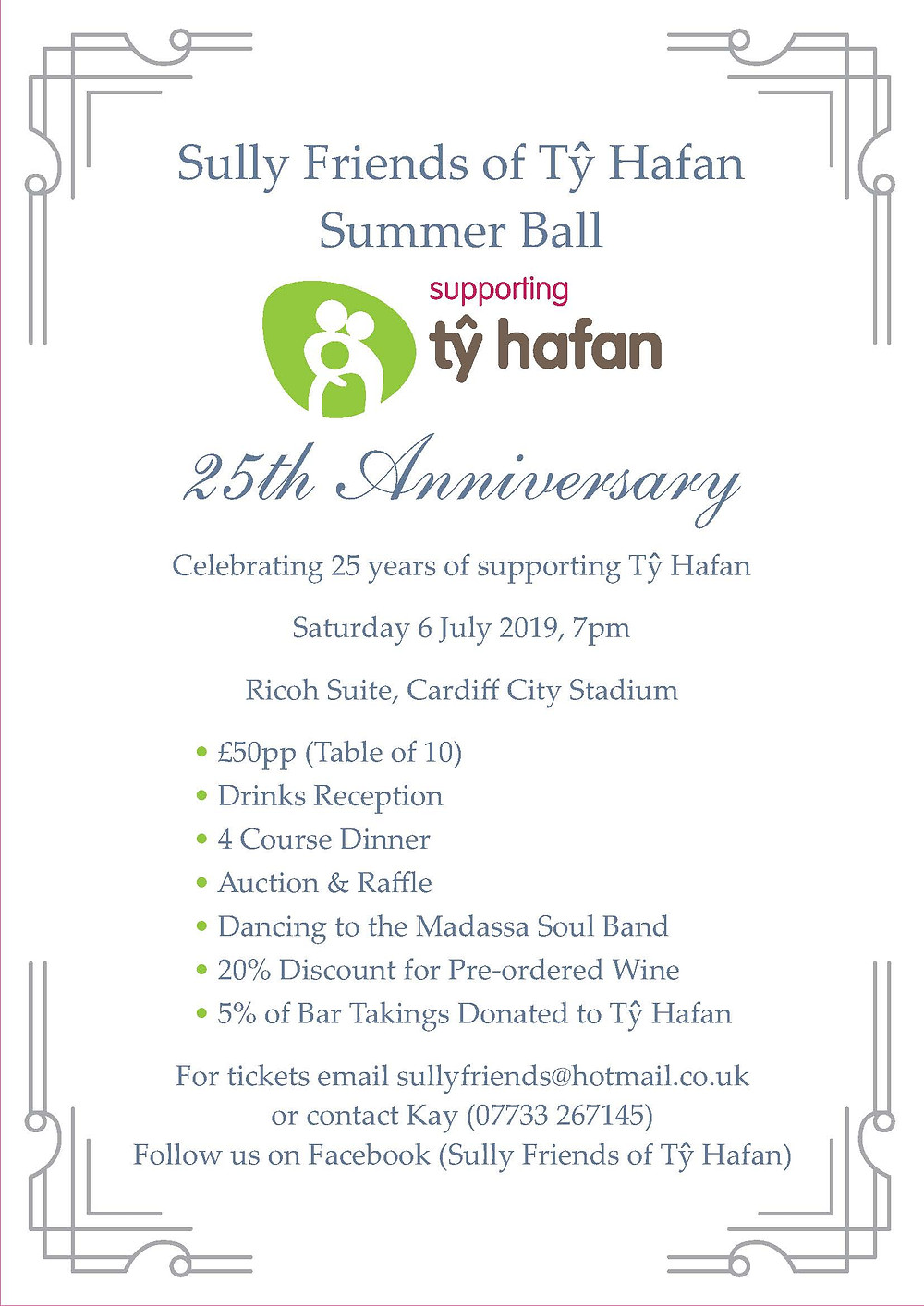 Ty Hafan Summer Ball