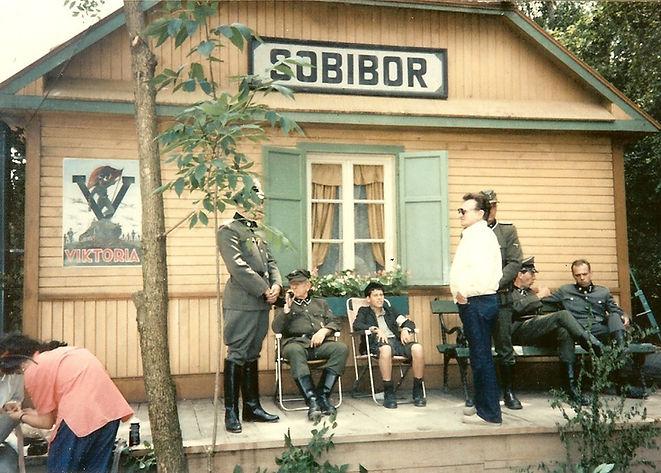 Escape to sobibor film set