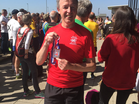 British Championships 10K  Medal winner