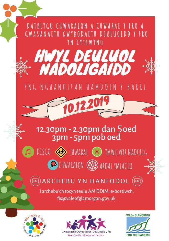 Image of event poster (Welsh)