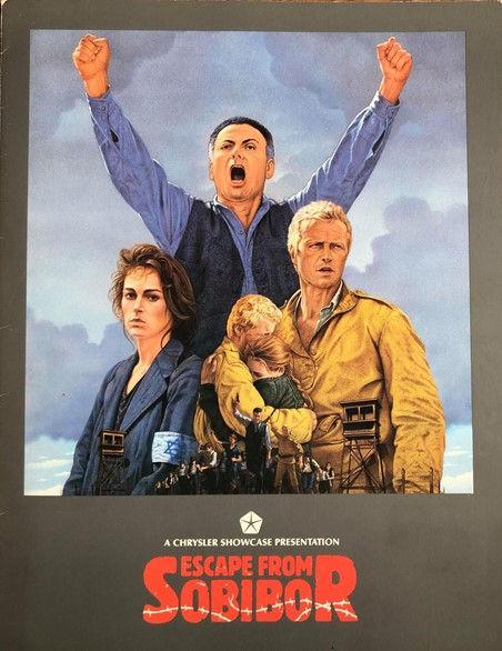 Original Escape from Sobibór Release Poster 1987