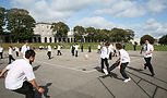 Image of children playing from Devenport High School for Boys