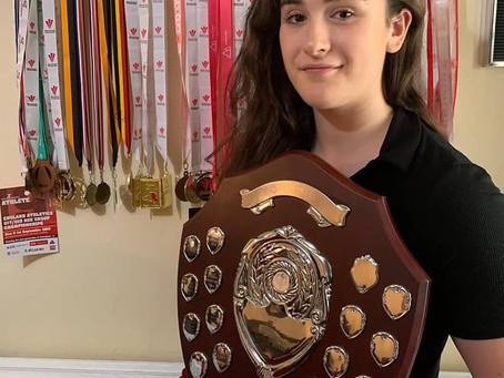 "Amelia Fettis scoops ""Bill Kingsbury Award"""