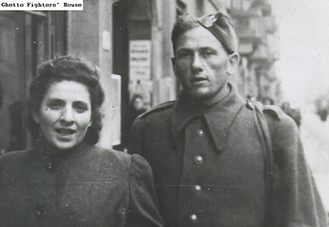 Itzhak and Ada Lichtman, participants in the uprising in the Sobibór death camp