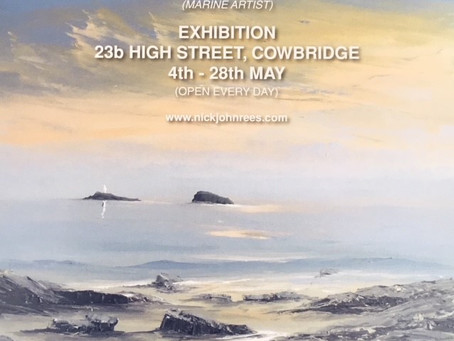Nick John Rees Art Exhibition