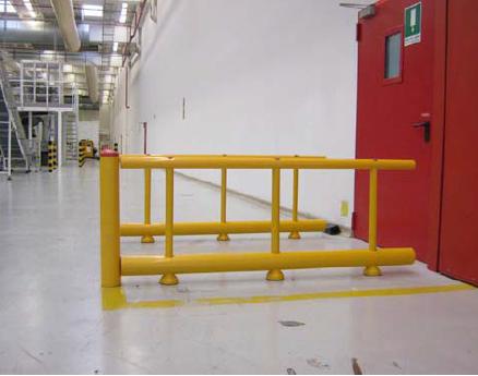High Guiderail Protection Pedestrian Access