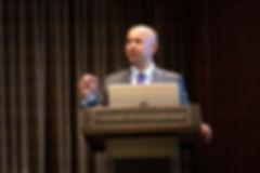 Image of guest speaker David Rahman