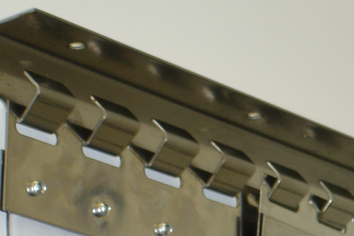 Hanging rail for strip curtain