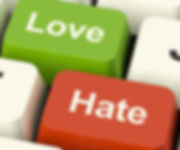 Love hate image