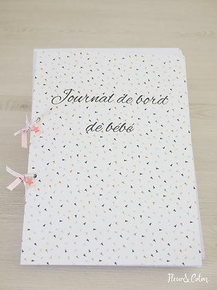 Journal de bord de bébé corail